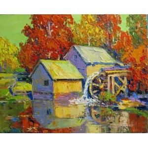 Осень на мельнице