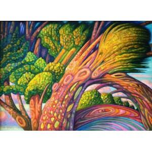 Деревья перед грозой