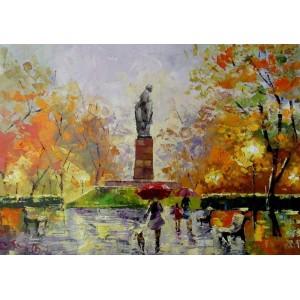 Осень в парке Шевченка