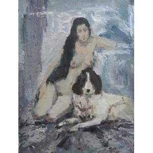 Девушка с собакой