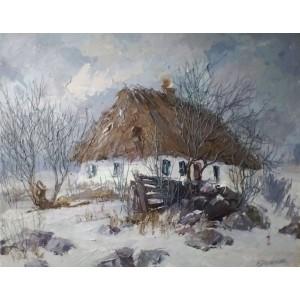 Бабусина хата. Зима
