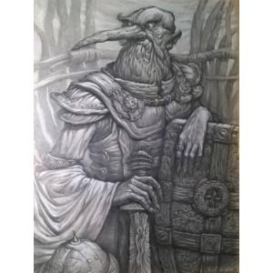 Портрет знатного военачальника