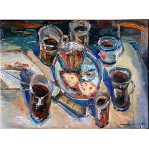 Обід в художній майстерні