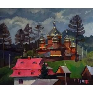 Деревянная церковь в Ворохте