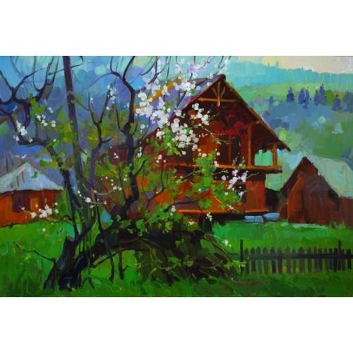 Весна в Микуличине
