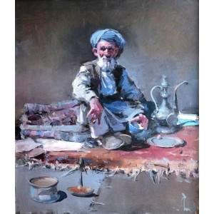Пакистан, продавец ковров
