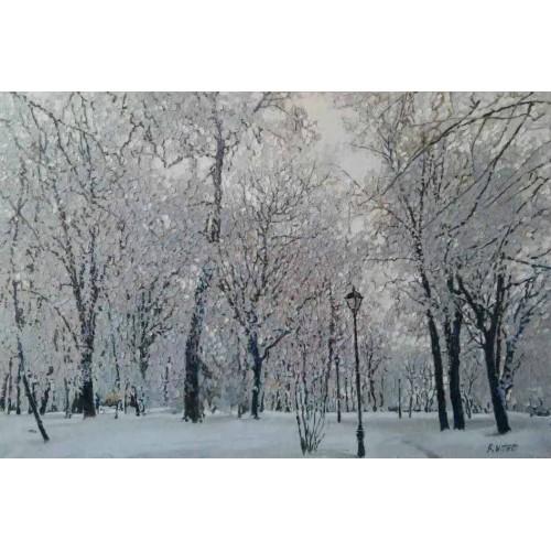 Мариинка зимой