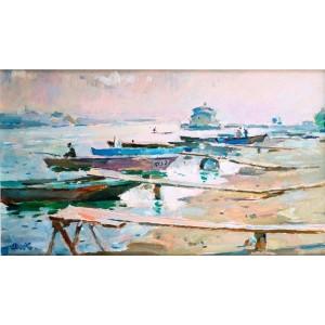 Човни на Дніпрі