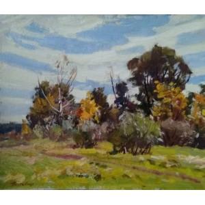 Осінні дерева