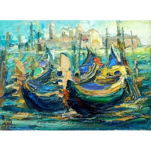 Венеція. Човни