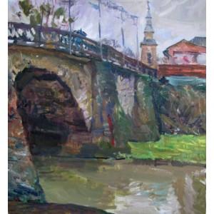 Старий міст в Берегово