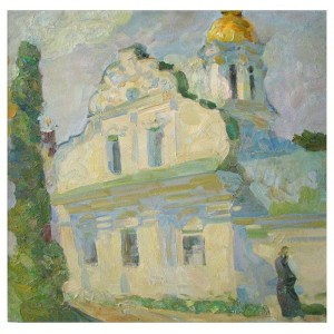 Монастирський корпус.Ранок