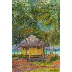 Хатинка під пальмами