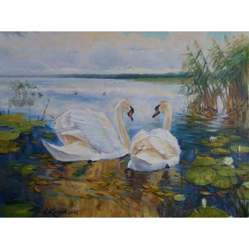 Лебедина пара