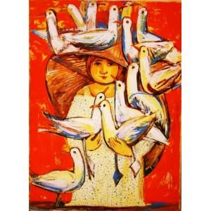 Девочка с чайками
