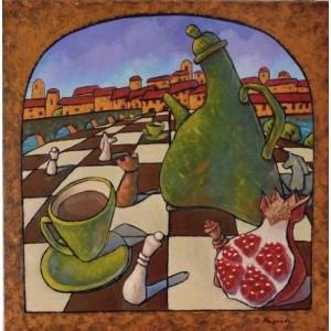 Натюрморт на шахівниці
