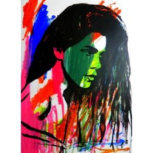 Девушка с зеленым лицом