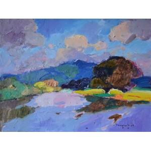 Река Тиса летом
