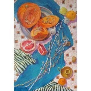 Тыква и грейпфрут