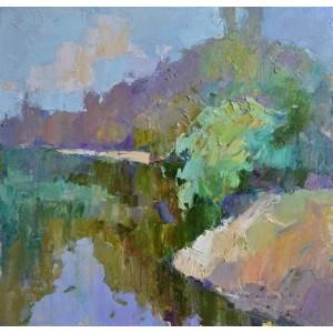 На реке Тиса летом