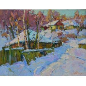 Зима в Седневі