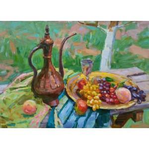 Кумган и фрукты