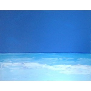 Breeze. Blue sea