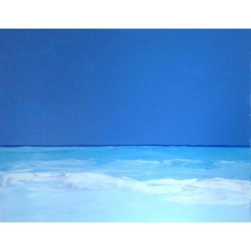 Breeze. Blue sea