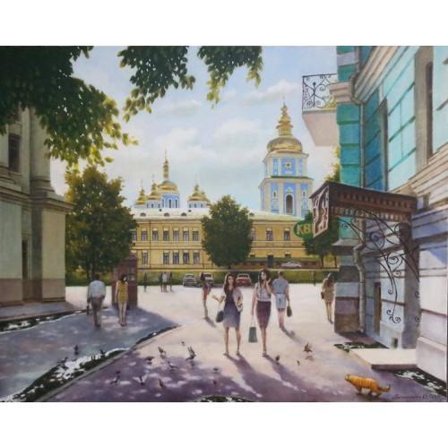 Михайловский собор. Лето