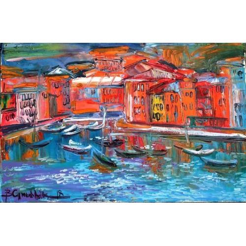 Итальянский городок у моря
