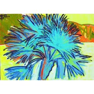 Пальма цвета изумруд