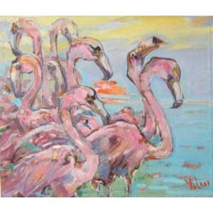 Восемь фламинго