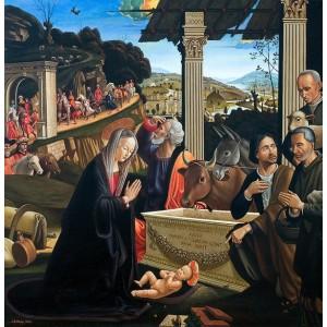 Поклоніння пастухів (копия Гірландайо)