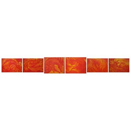 Год огненного коня, полиптих 6 картин