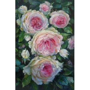 Пышные розы