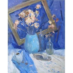 Натюрморт в синей гамме