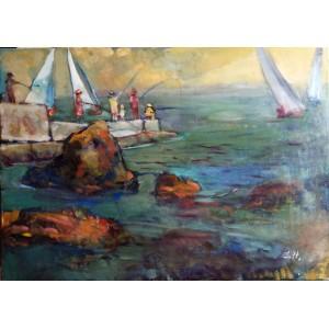 Рыбаки и море
