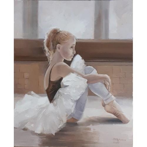 Отдых маленькой балерины