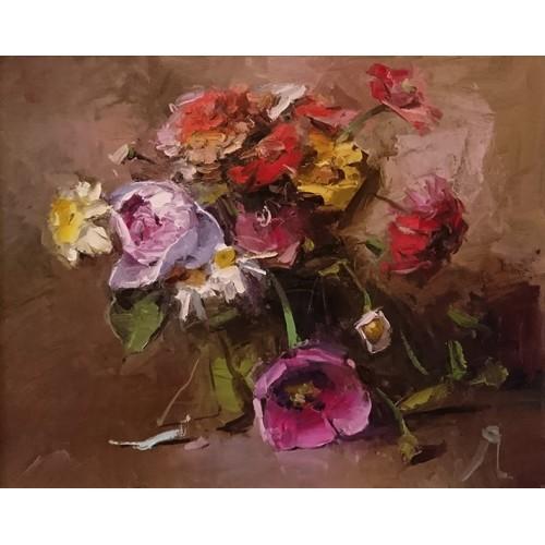 Пионы и другие цветы