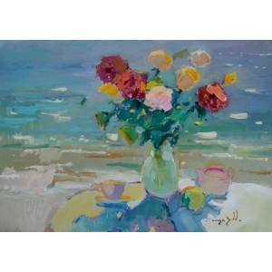Розы у моря