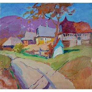 Осень в селе Речка