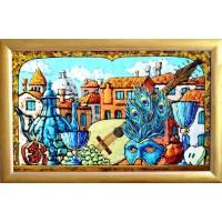 картина маслом, Венецианский натюрморт, Радаева Елена, в рамке