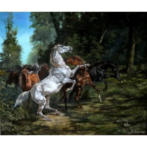 картина маслом, Соперники, Лычагина Юлия
