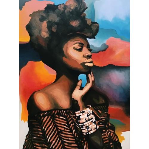 картина маслом, Tenderness of thought (Нежность мысли), Артамонова Анастасия