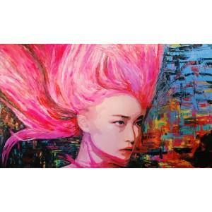 картинка - картина маслом, Against the wind (Против ветра), Артамонова Анастасия
