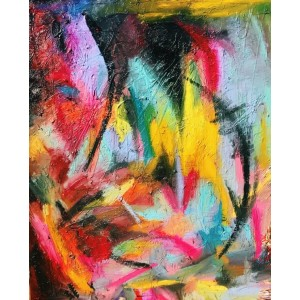 картина маслом, Spring in darkness (Весна в темряві), Артамонова Анастасія
