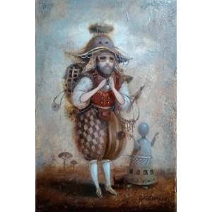 картина маслом, Мандрівник, Мацегора Олена