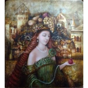 картина маслом, Берегиня дому, Мацегора Олена