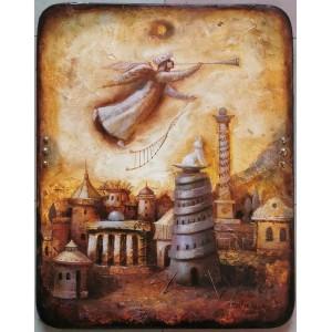 картина маслом, Вісник, Мацегора Олена