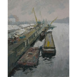 картина Масло, Порт, Федоренко Евгений